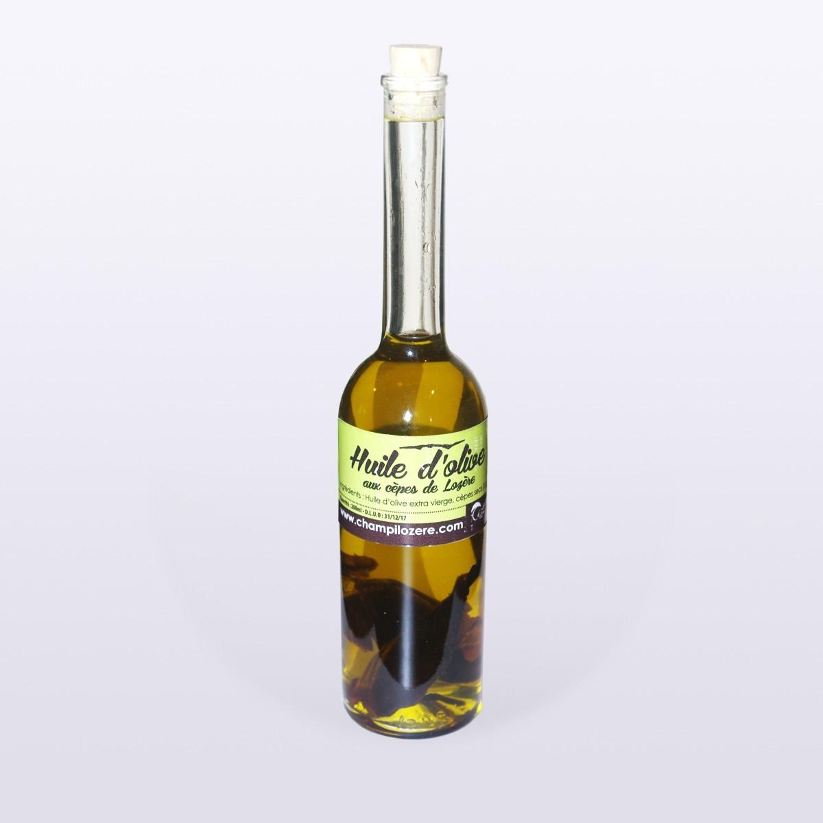 Huile d'olive aux cèpes